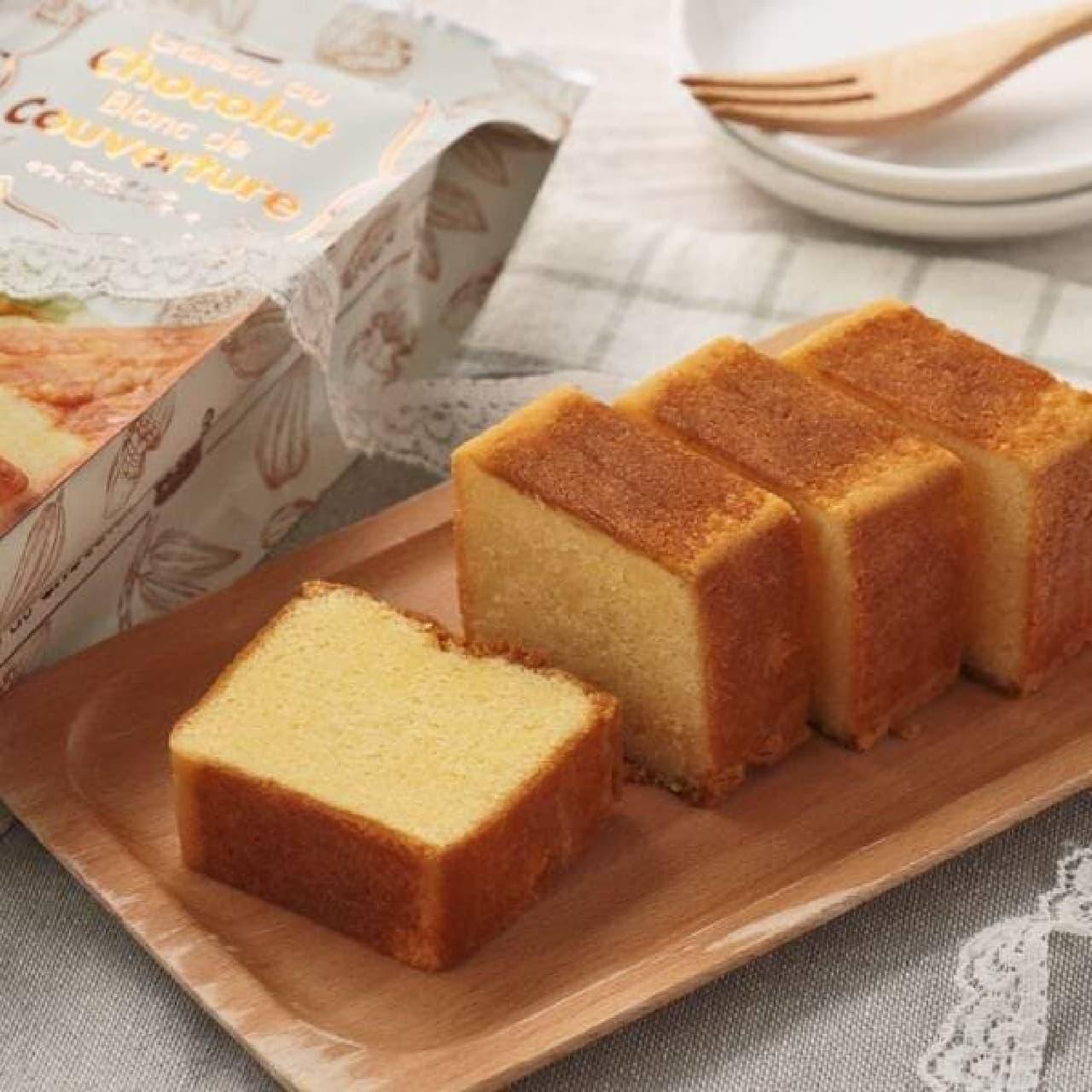 カルディ「クーベルチュールホワイトチョコレートケーキ」
