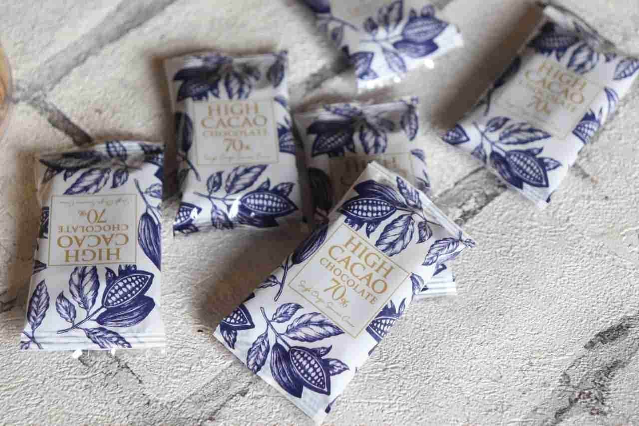 カルディ「ハイカカオ70%チョコレート ナポリタン」
