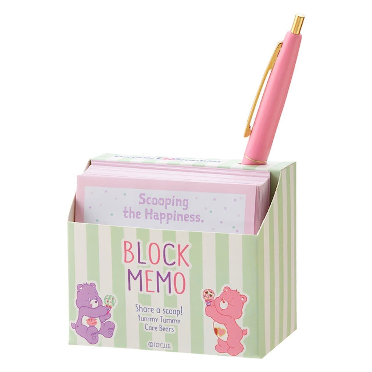 コラボ「BICボールペン ブロックメモセット」