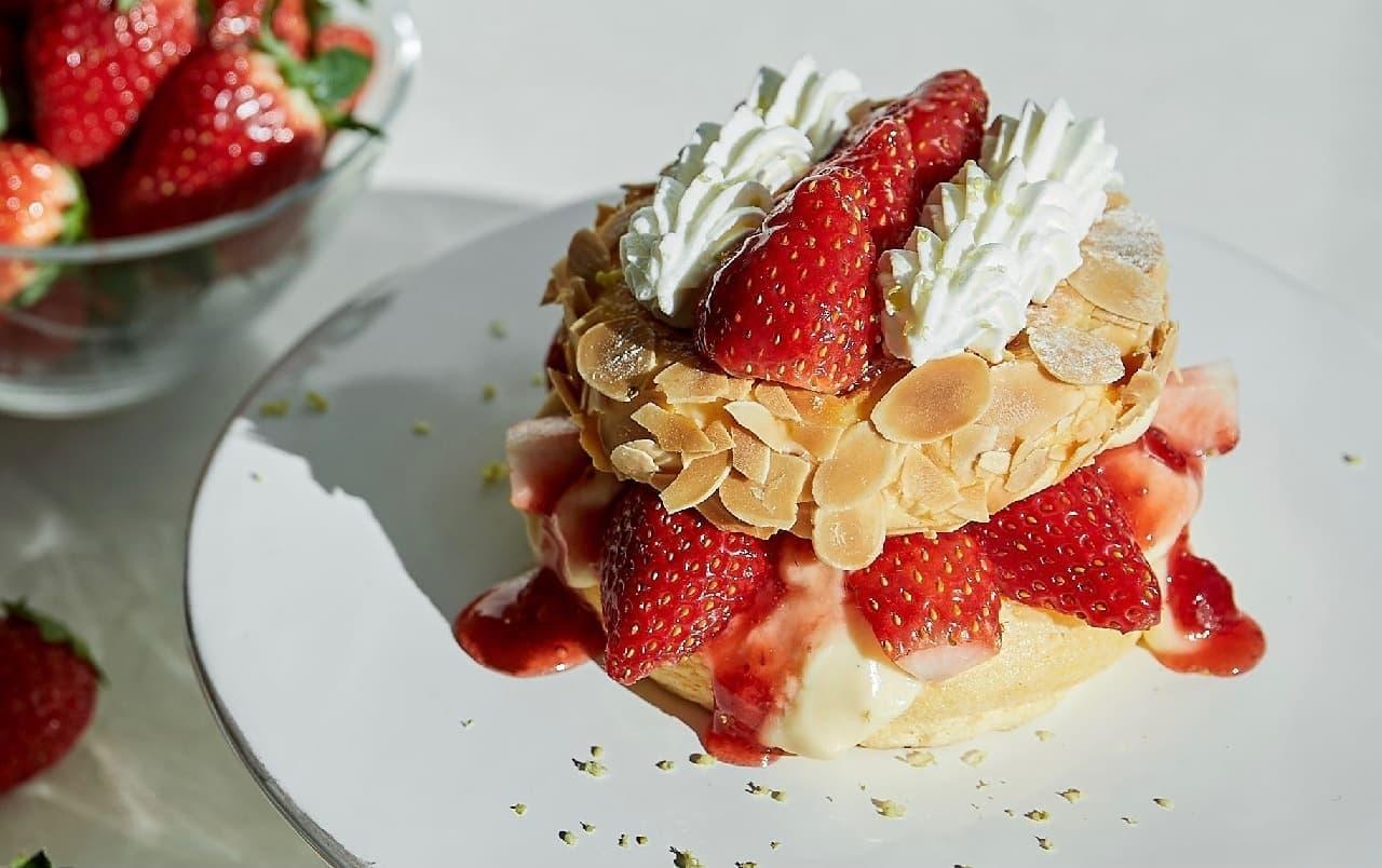FLIPPER'S「奇跡のパンケーキ いちごのミルフィーユ」