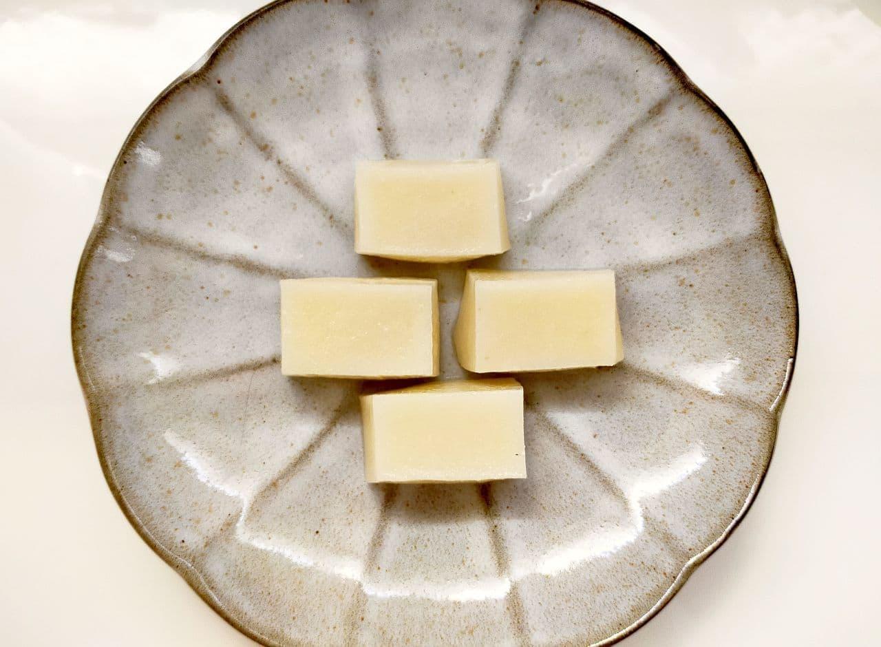 切り餅の信玄餅風レシピ
