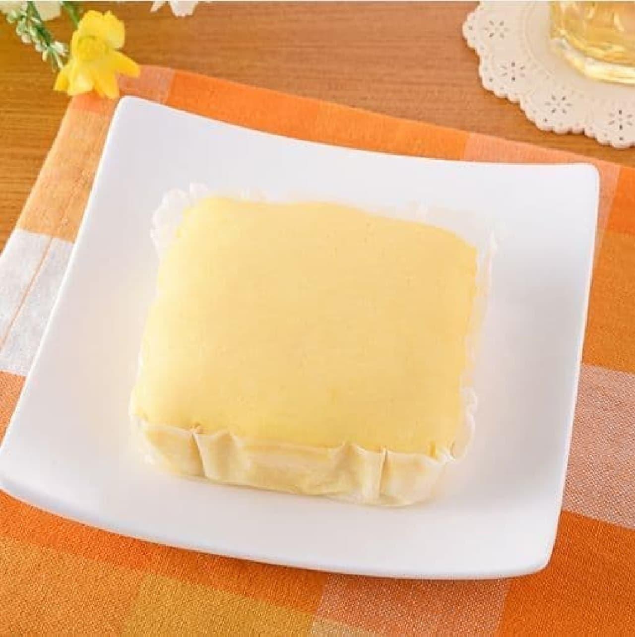 ファミリーマート「濃い味チーズケーキ」
