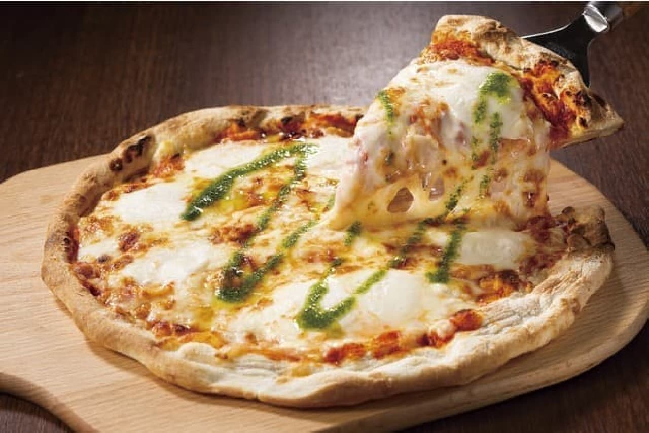ガスト「マルゲリータピザ」