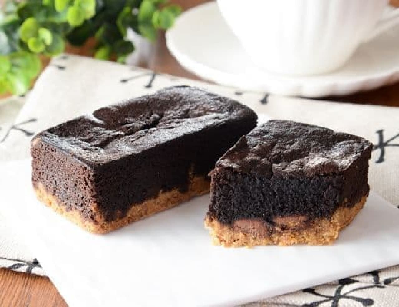 ローソン「マチノパン 焼チョコタルト」