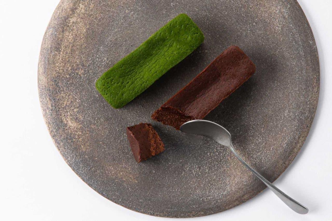 治一郎のガトーショコラ(チョコレート・抹茶)