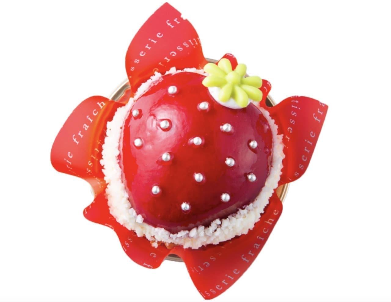シャトレーゼ「まんまる苺ケーキ」