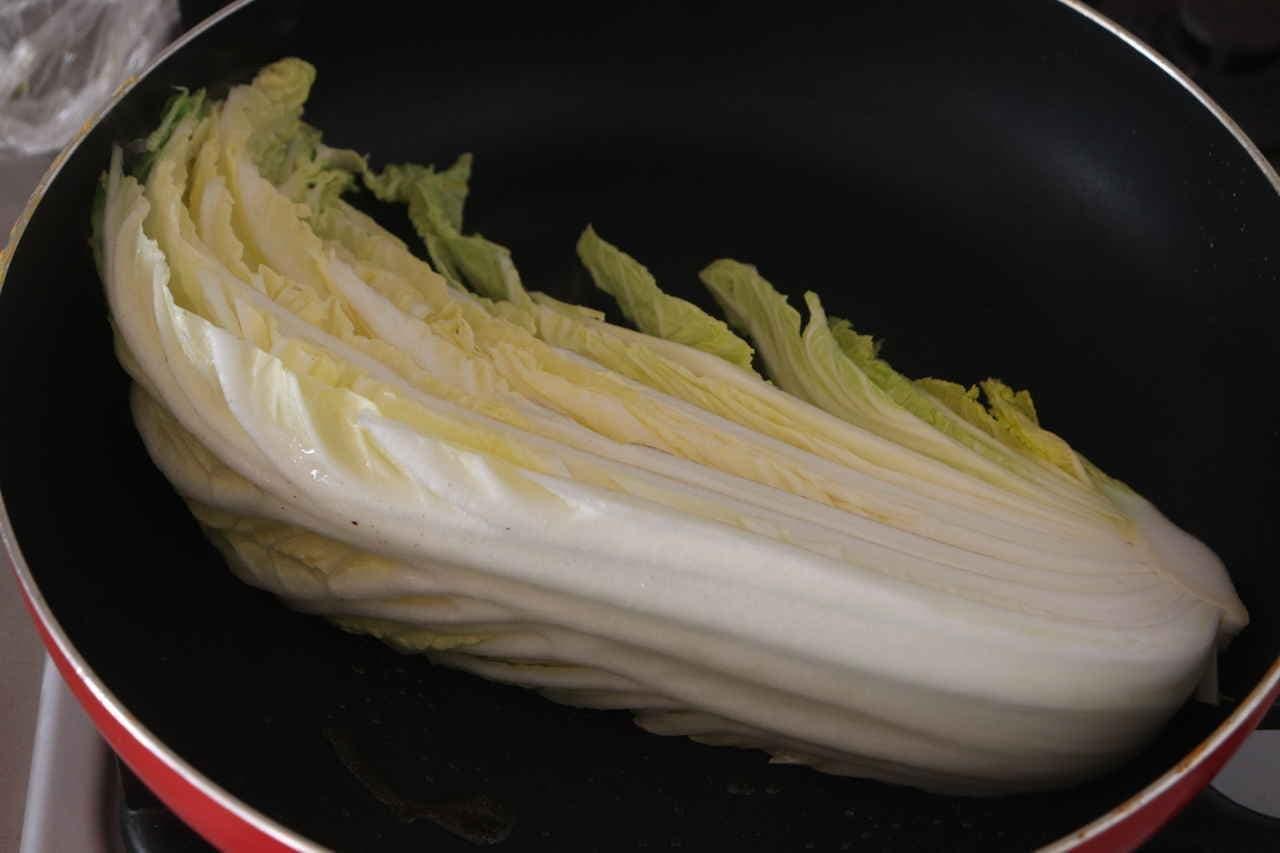 白菜ステーキレシピ