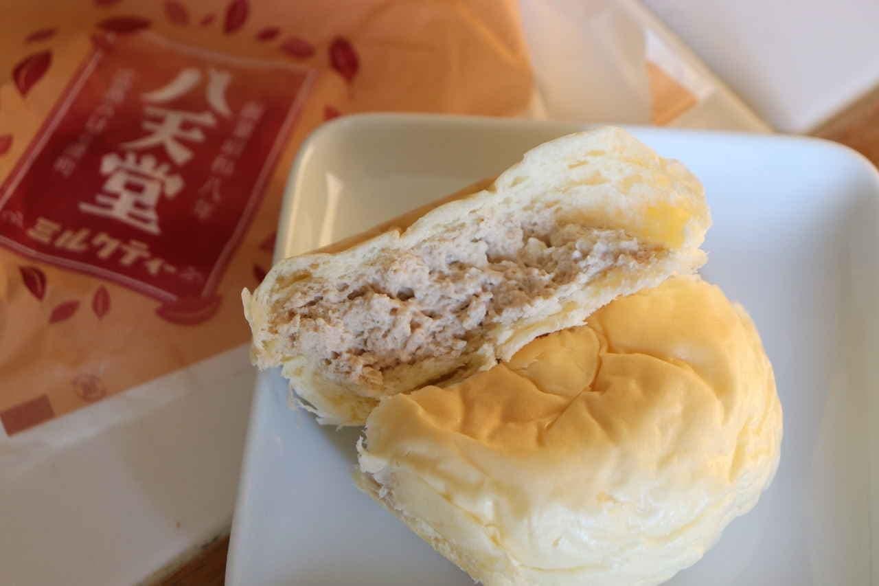 八天堂「くりーむパン ミルクティー」