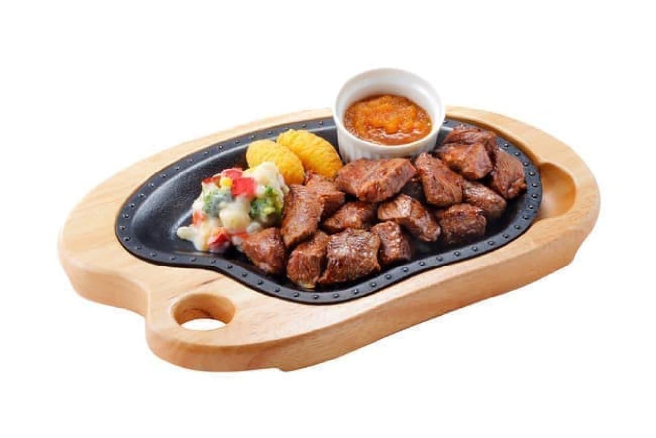コロコロステーキ肉増しキャンペーン