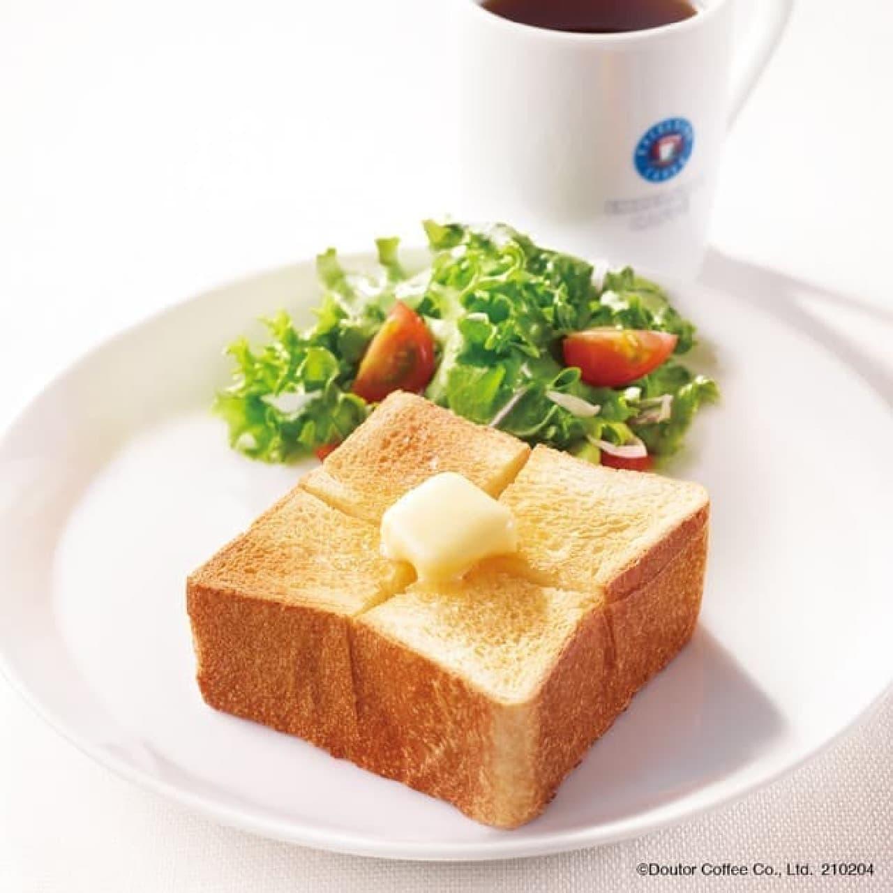 エクセルシオール カフェ「厚切りトーストプレート」