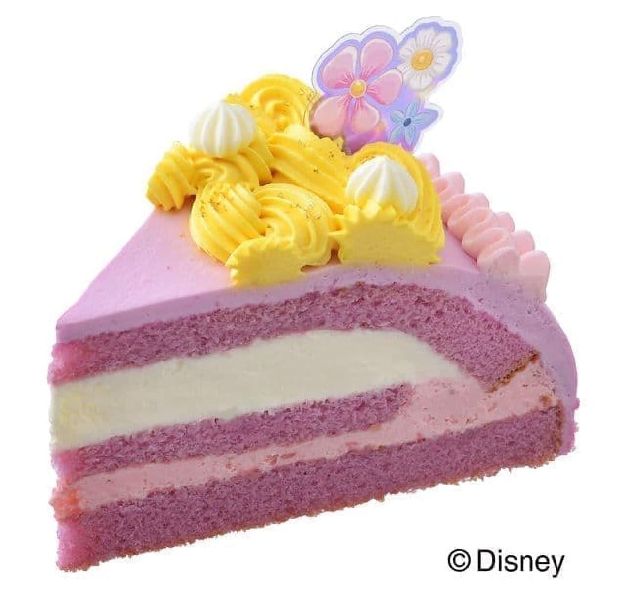 銀座コージーコーナー「<ラプンツェル>プリンセスケーキ」