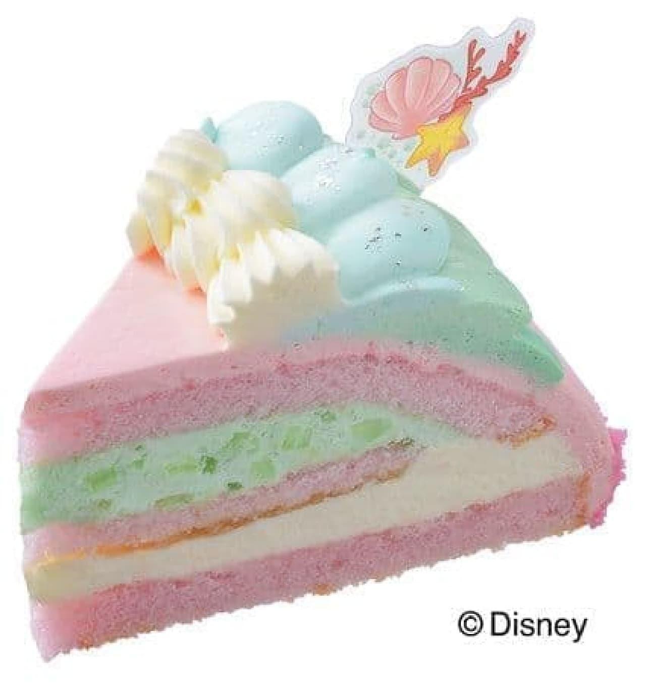 銀座コージーコーナー「<アリエル>プリンセスケーキ」