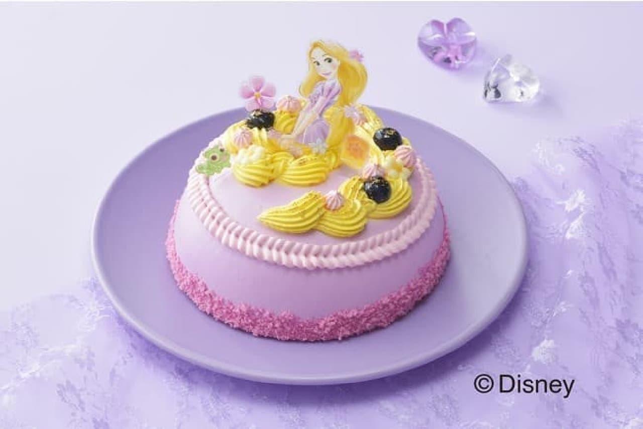 銀座コージーコーナー「<ラプンツェル>ドレスケーキ」