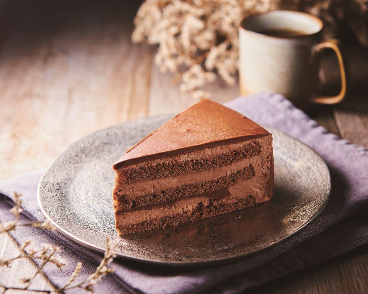 シャトレーゼ「糖質86%カットの濃厚チョコショートケーキ」