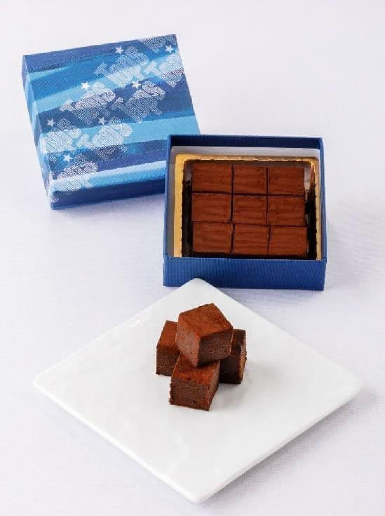 トップス 生チョコレート「パヴェドショコラ」バレンタイン限定パッケージ