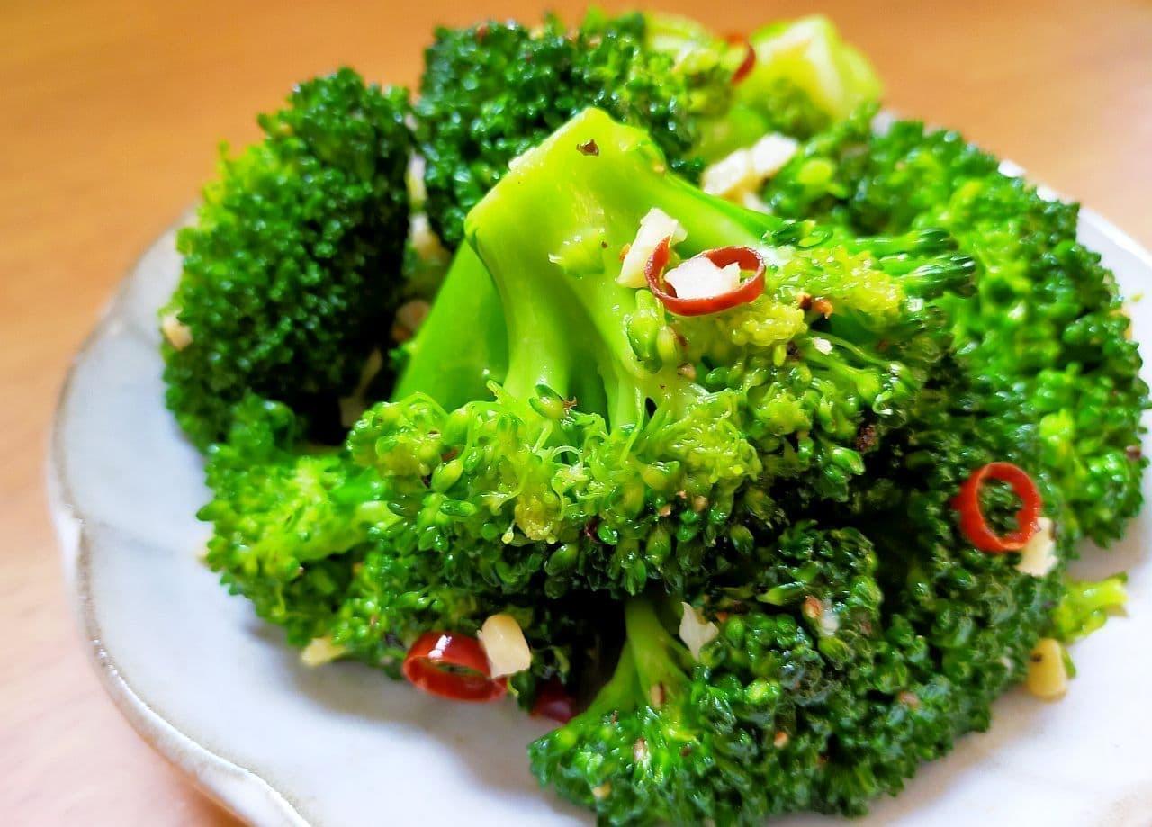 「白菜のペペロンチーノ風」のレシピ