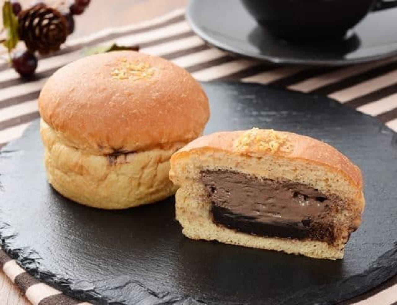 ローソン「NL ブランのチョコホイップパン~乳酸菌入~」