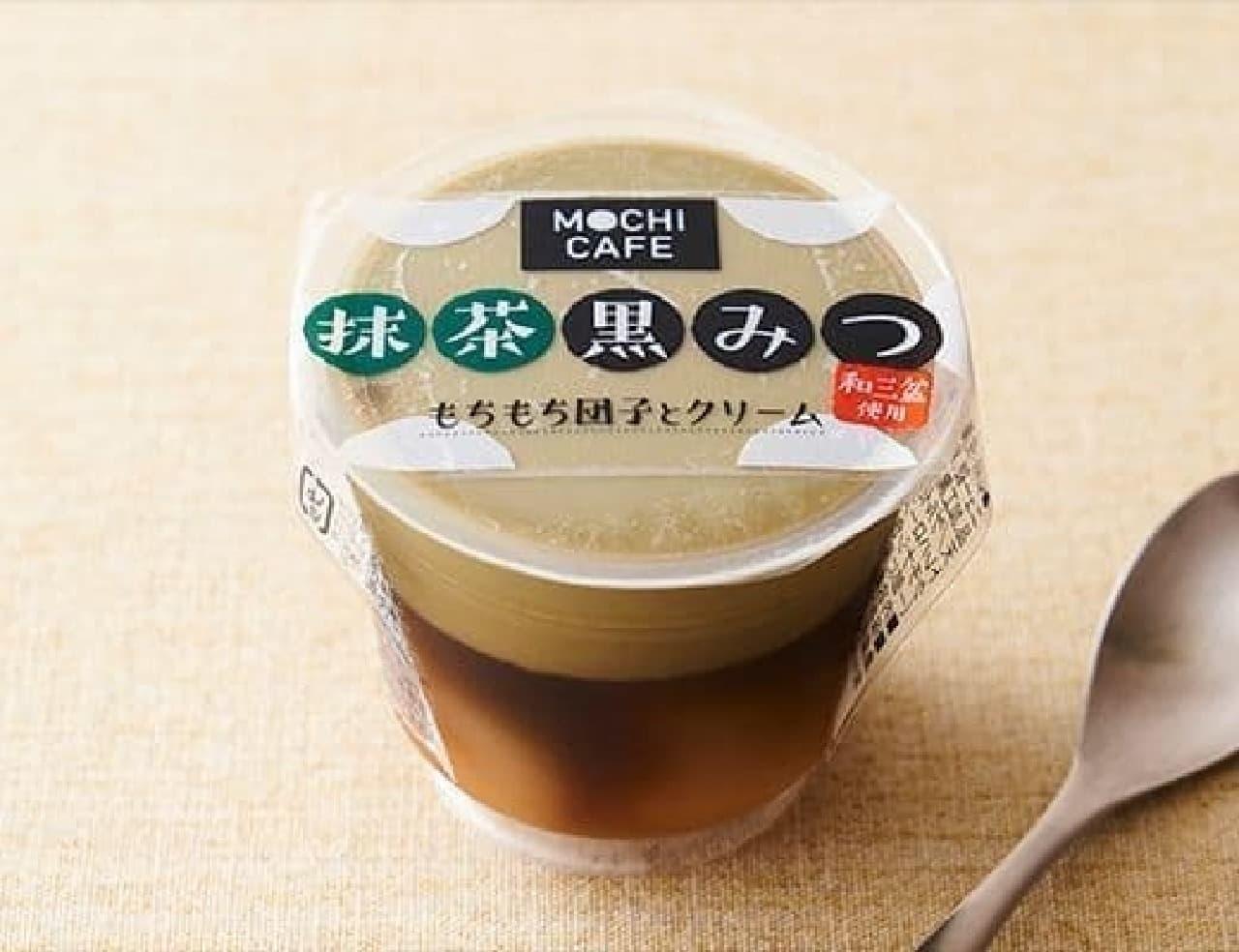 徳島産業 もちカフェ 抹茶黒みつ 120g