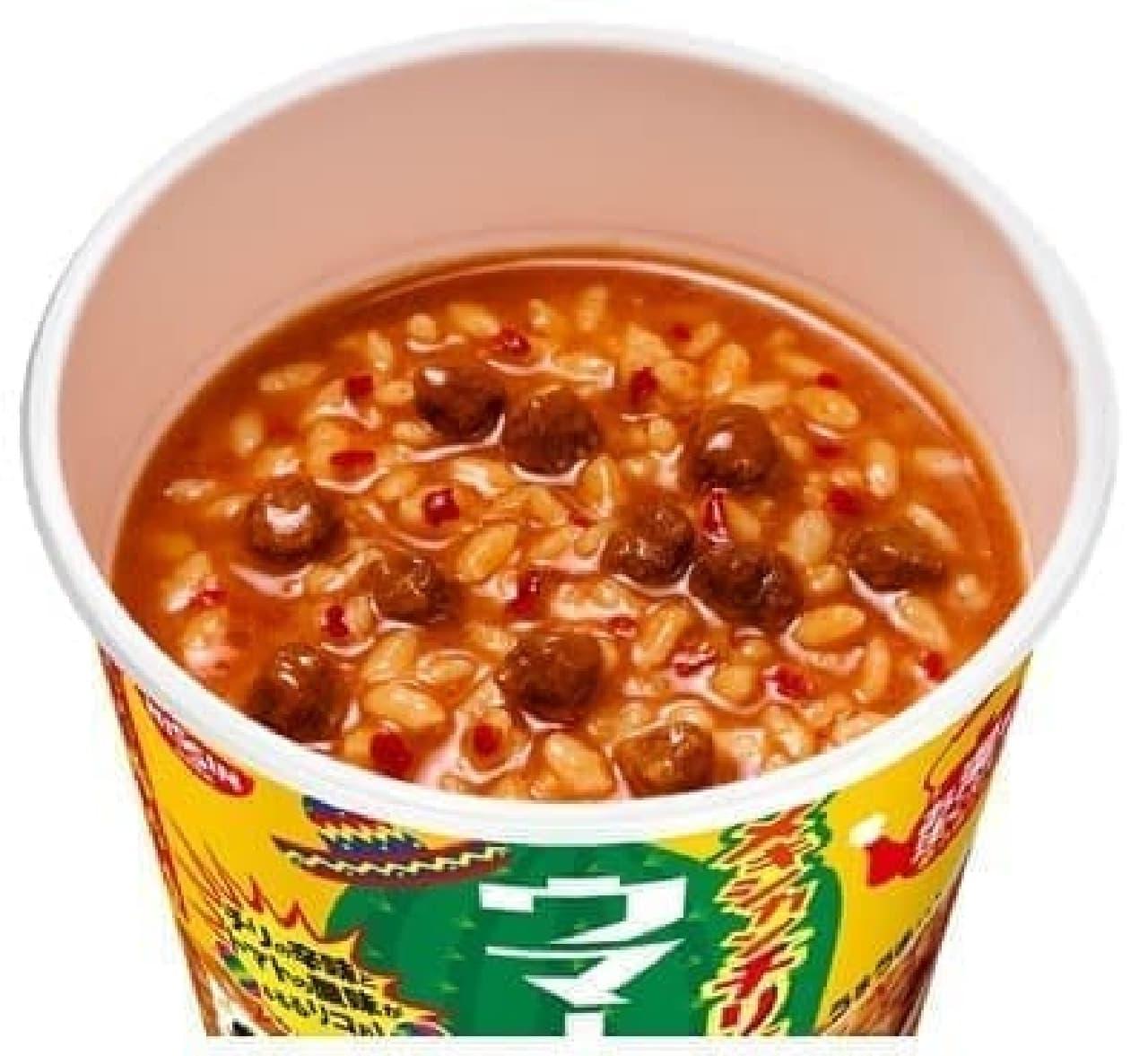 日清食品から「日清ウマーメシ メキシカンチリ飯」