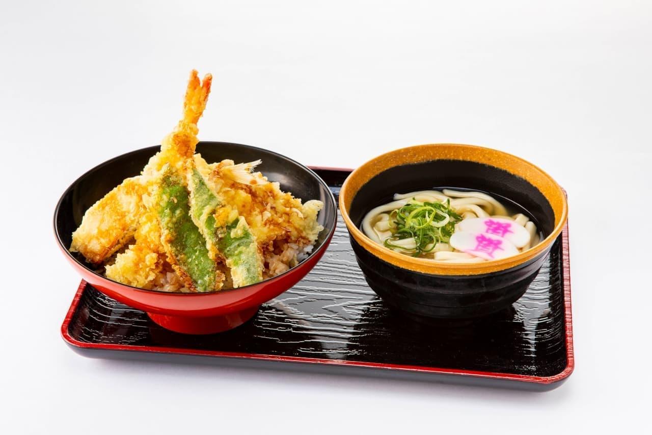 資さんうどん「春のあさりと天ぷら祭り」