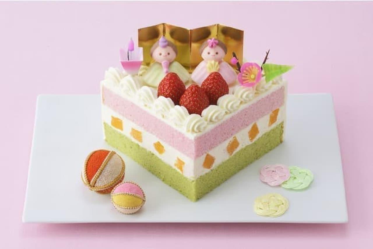 銀座コージーコーナー ひなまつり限定ケーキ