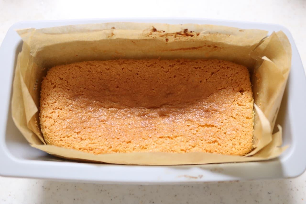レシピ「アーモンドケーキ」