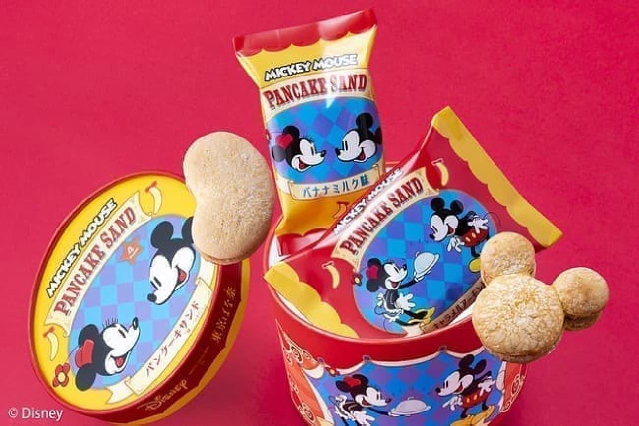 ミッキーマウス/パンケーキサンド「見ぃつけたっ」