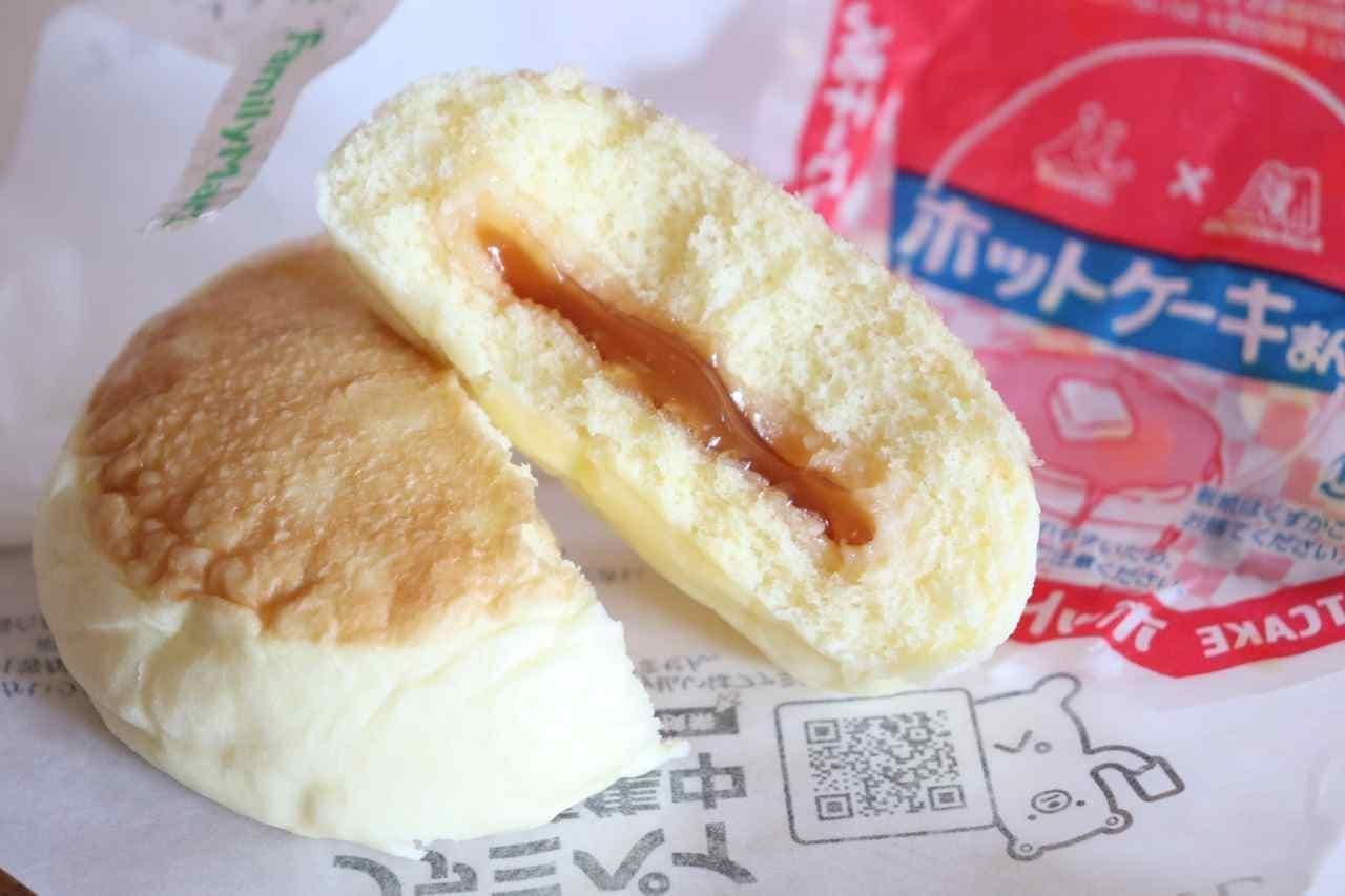 ファミマ「バター香るホットケーキまん」