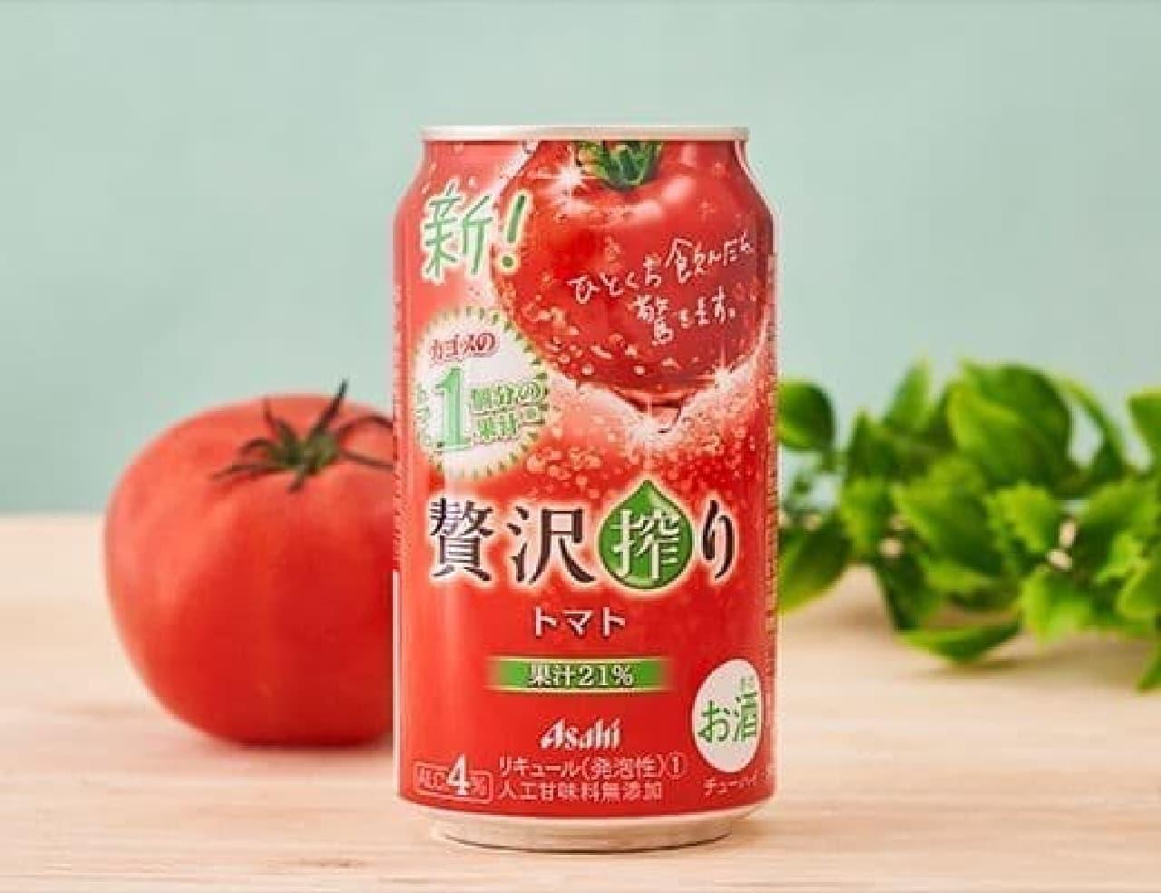 アサヒ 贅沢搾りトマト 350ml