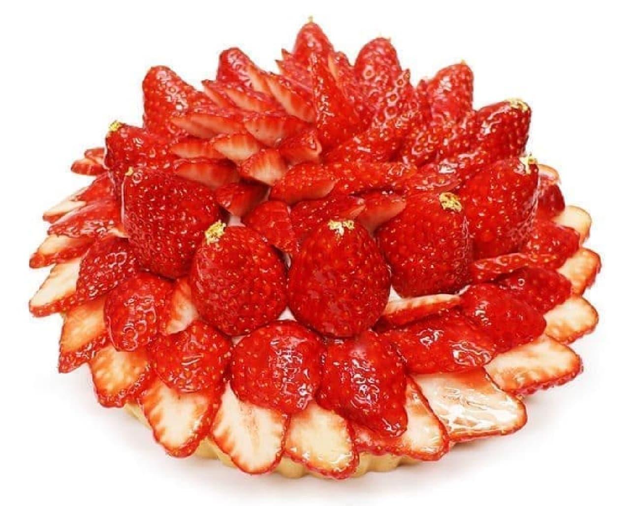 カフェコムサの奈良県 平群町(へぐりちょう)産 「古都華(ことか)」のケーキ