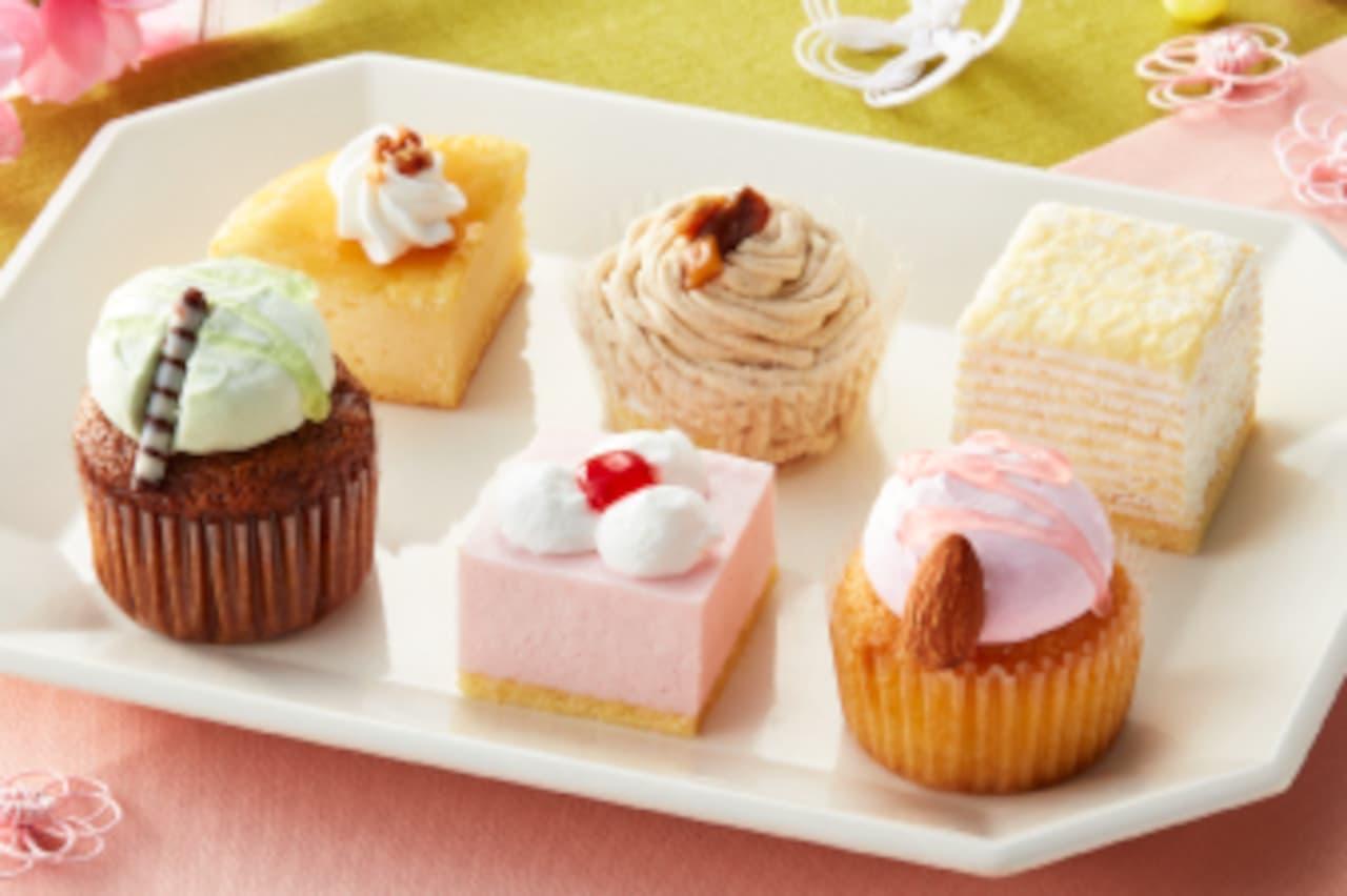 ドンレミー「バレンタインアソートケーキ」「ひなまつりアソートケーキ」