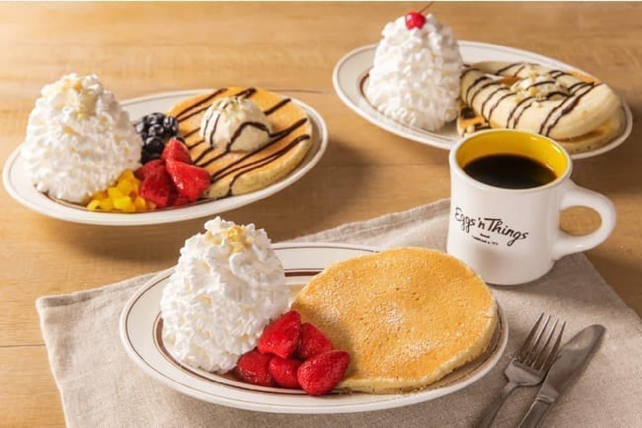 エッグスンシングス「Pancake for One ~お一人さまパンケーキ~」