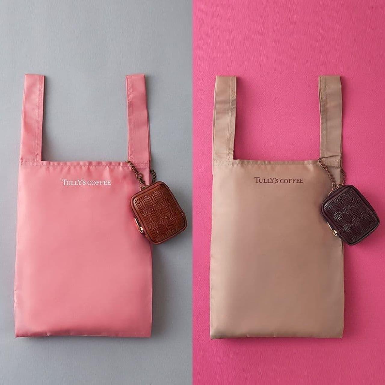 タリーズコーヒー「チョコレートECOバッグ(ミルクチョコ・ビターチョコ)」