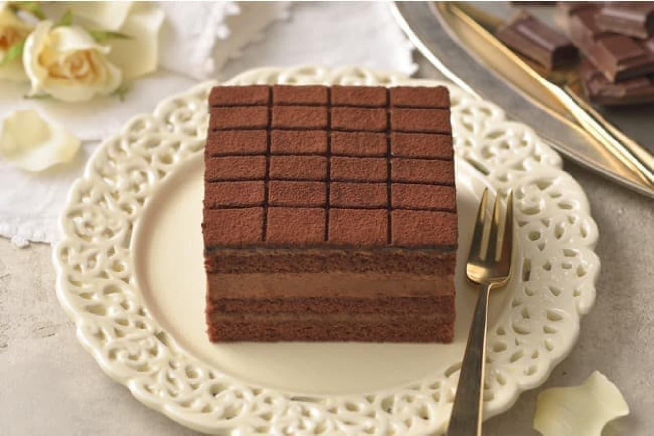 銀座コージーコーナー「銀座のレンガ生チョコケーキ」