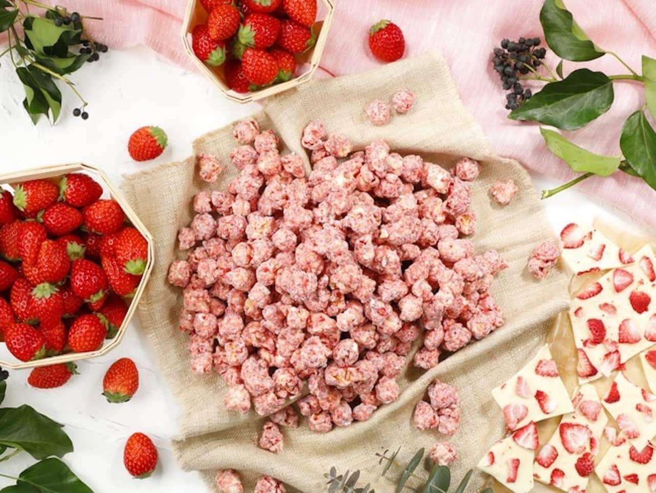 ギャレット ポップコーン ショップス「ベリーベリーホワイトチョコレート」