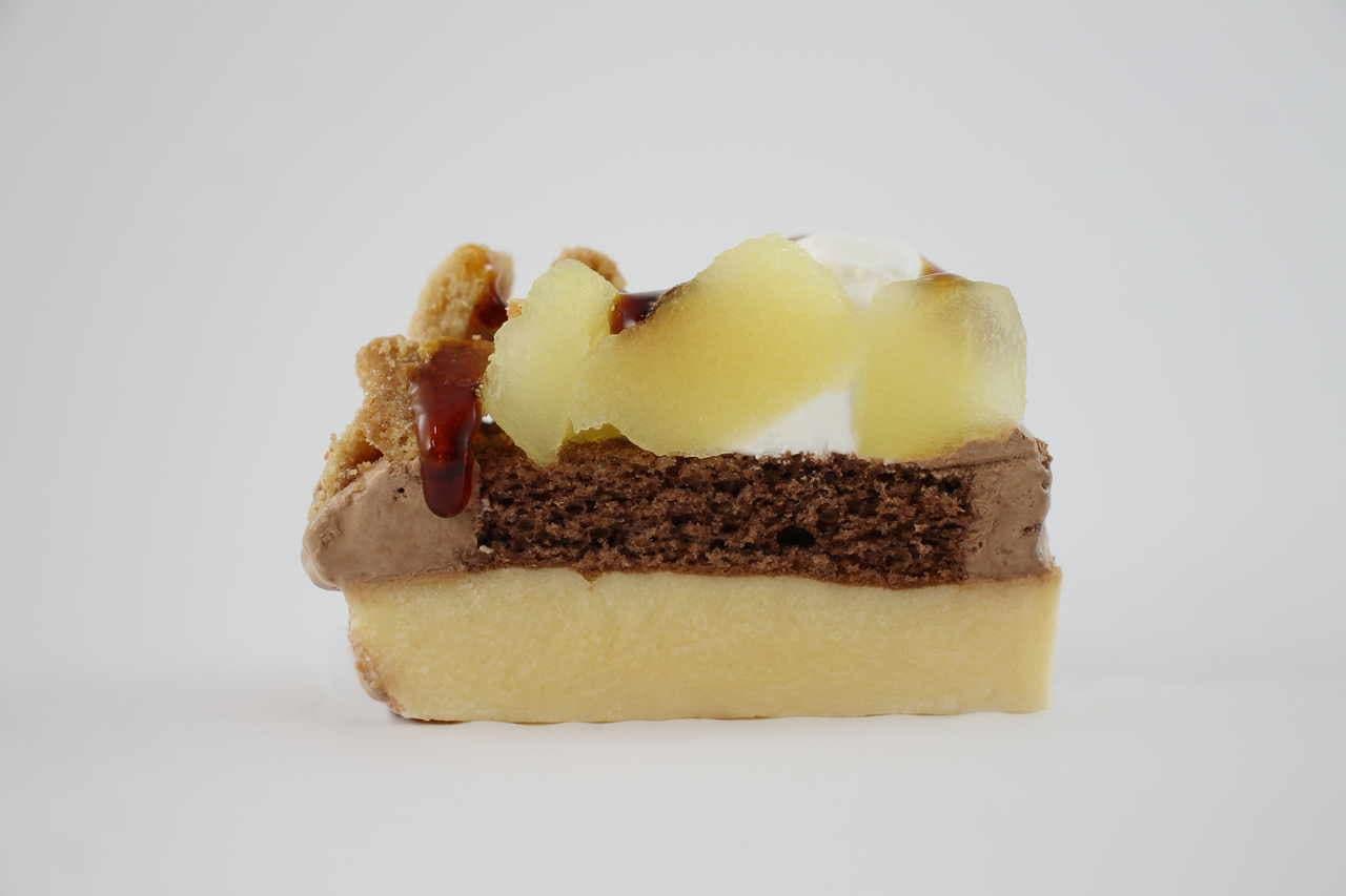 ファミマ グラニースミス監修「アップルコブラー りんご&カスタード&チョコレート」