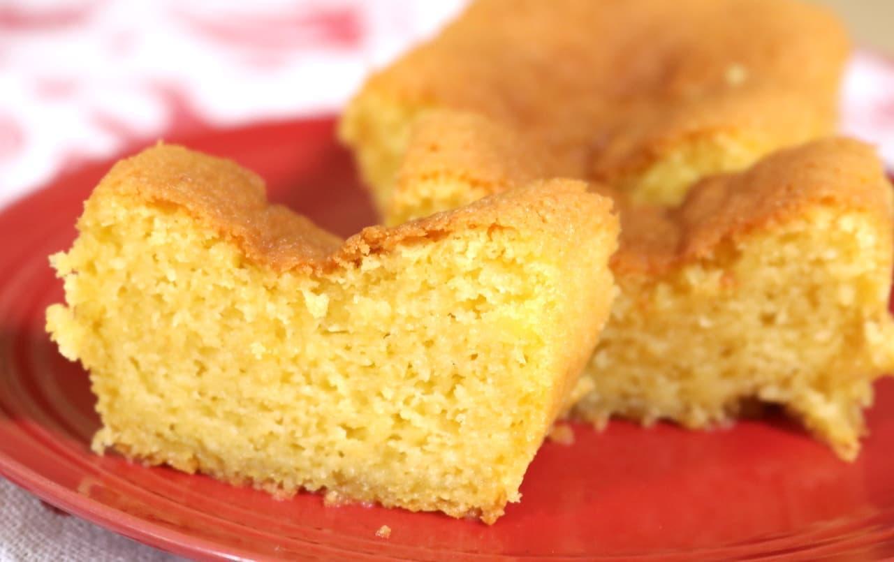「アーモンドケーキ」の簡単レシピ