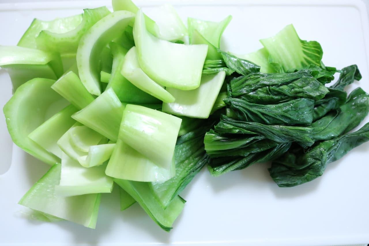 チンゲン菜の茹で方