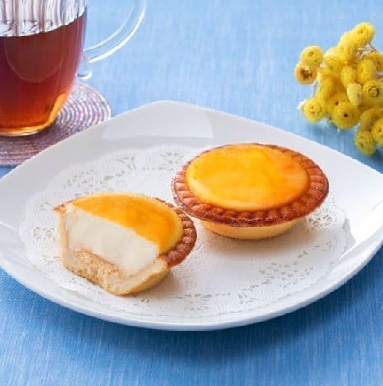 ファミリーマート「バター香る焼きチーズタルト」