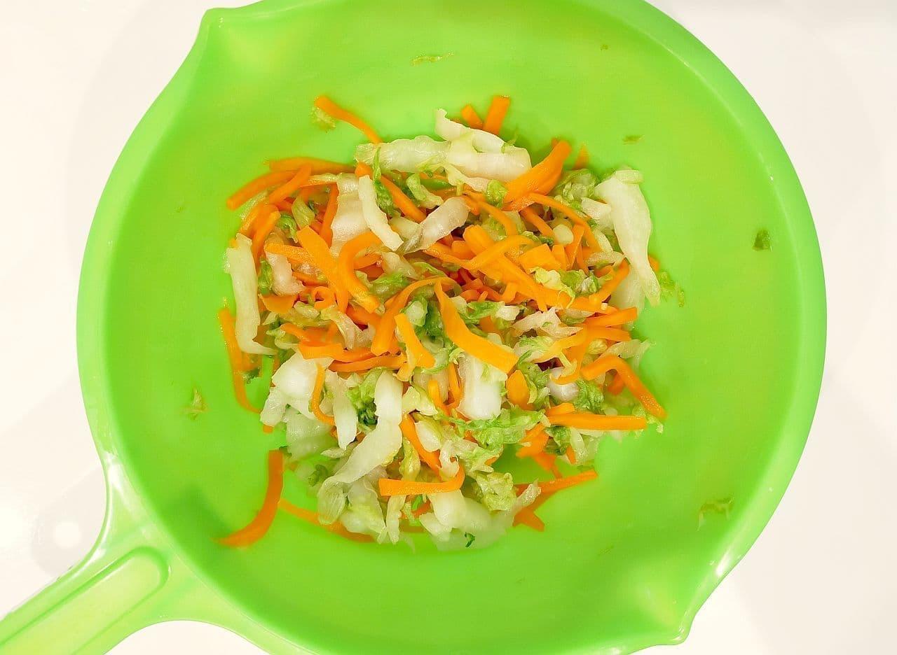 「白菜コールスロー」レシピ