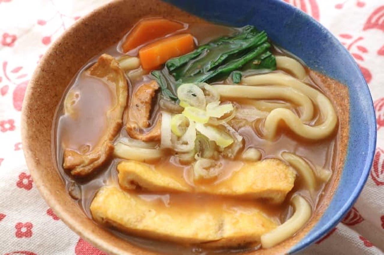 「カレーうどん」のレシピ
