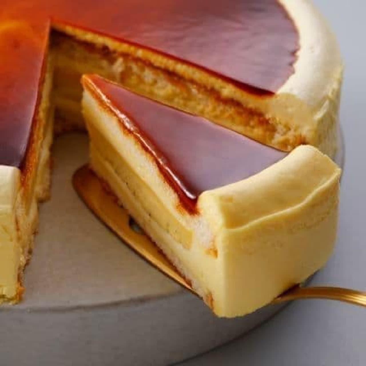 スターバックス「カスタードプリンケーキ」