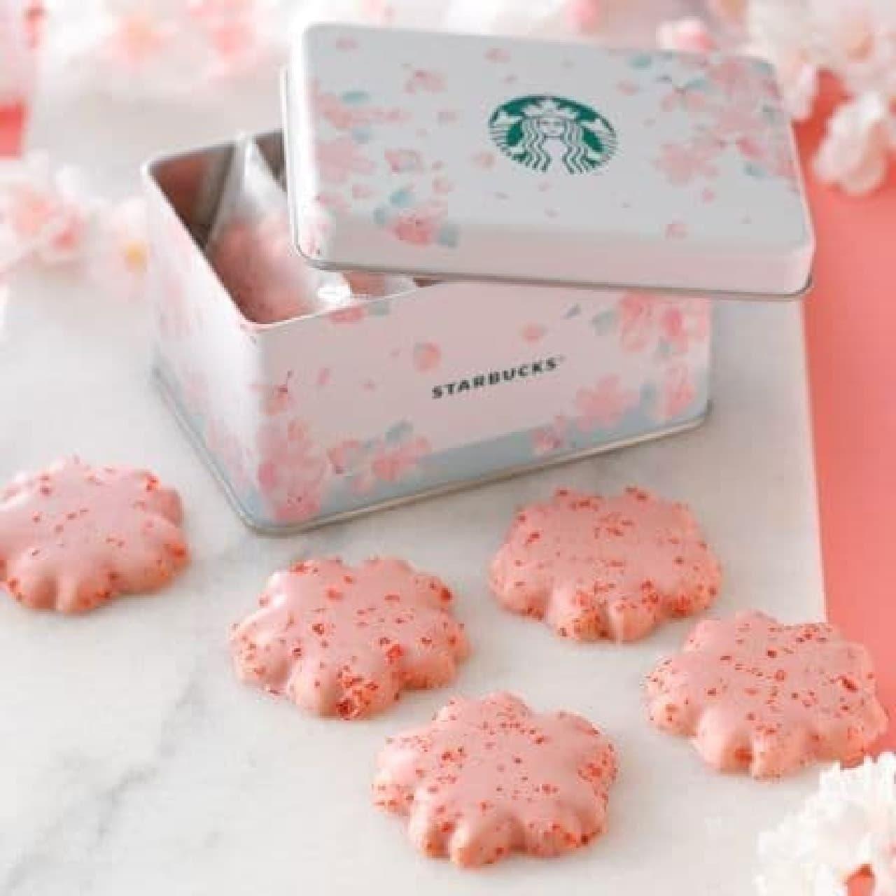 スターバックス「さくら&ベリー チョコレートクッキー」