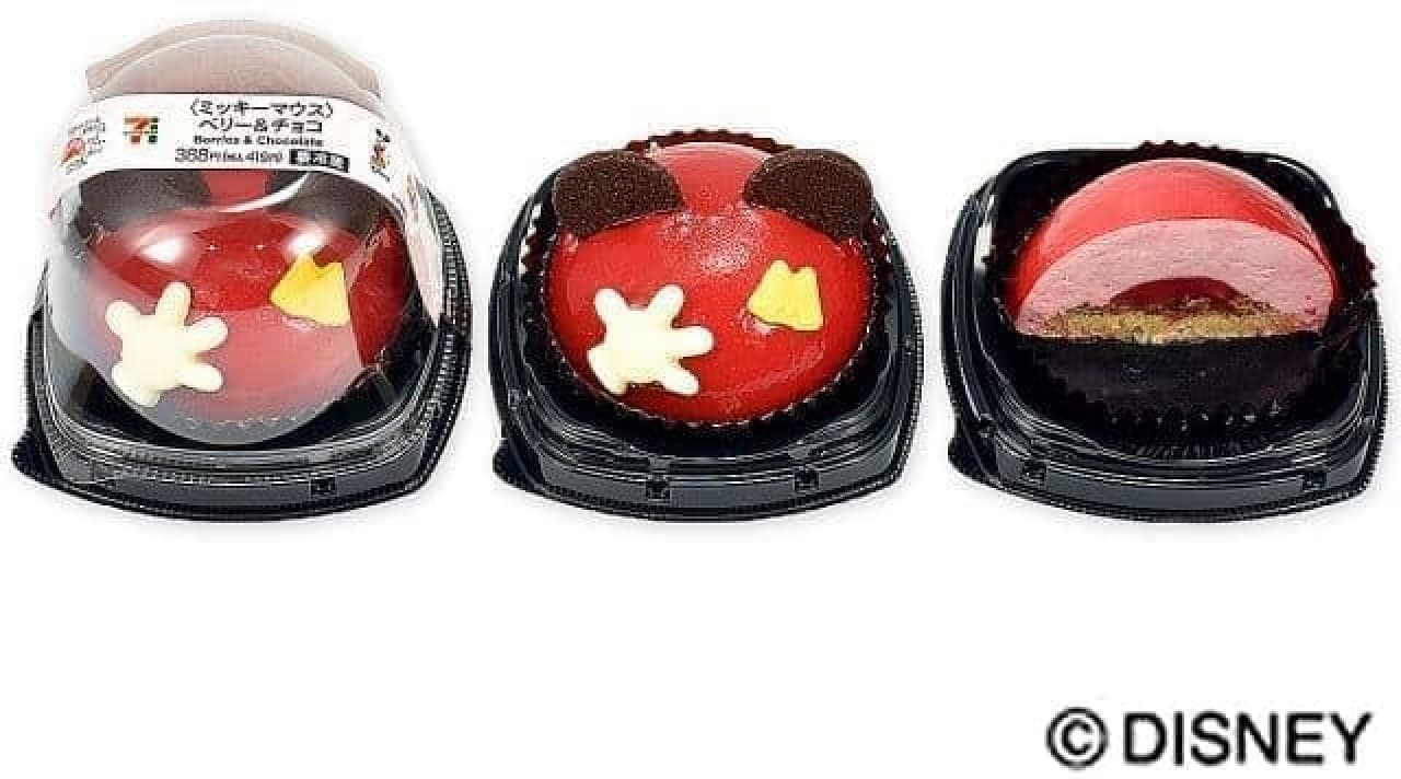 セブン-イレブン「〈ミッキーマウス〉ベリー&チョコ」