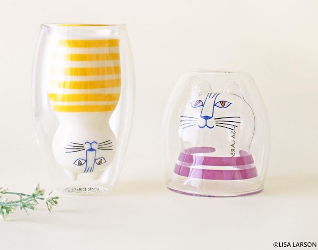 グッドグラス「リサ・ラーソンのダブルウォールグラス」