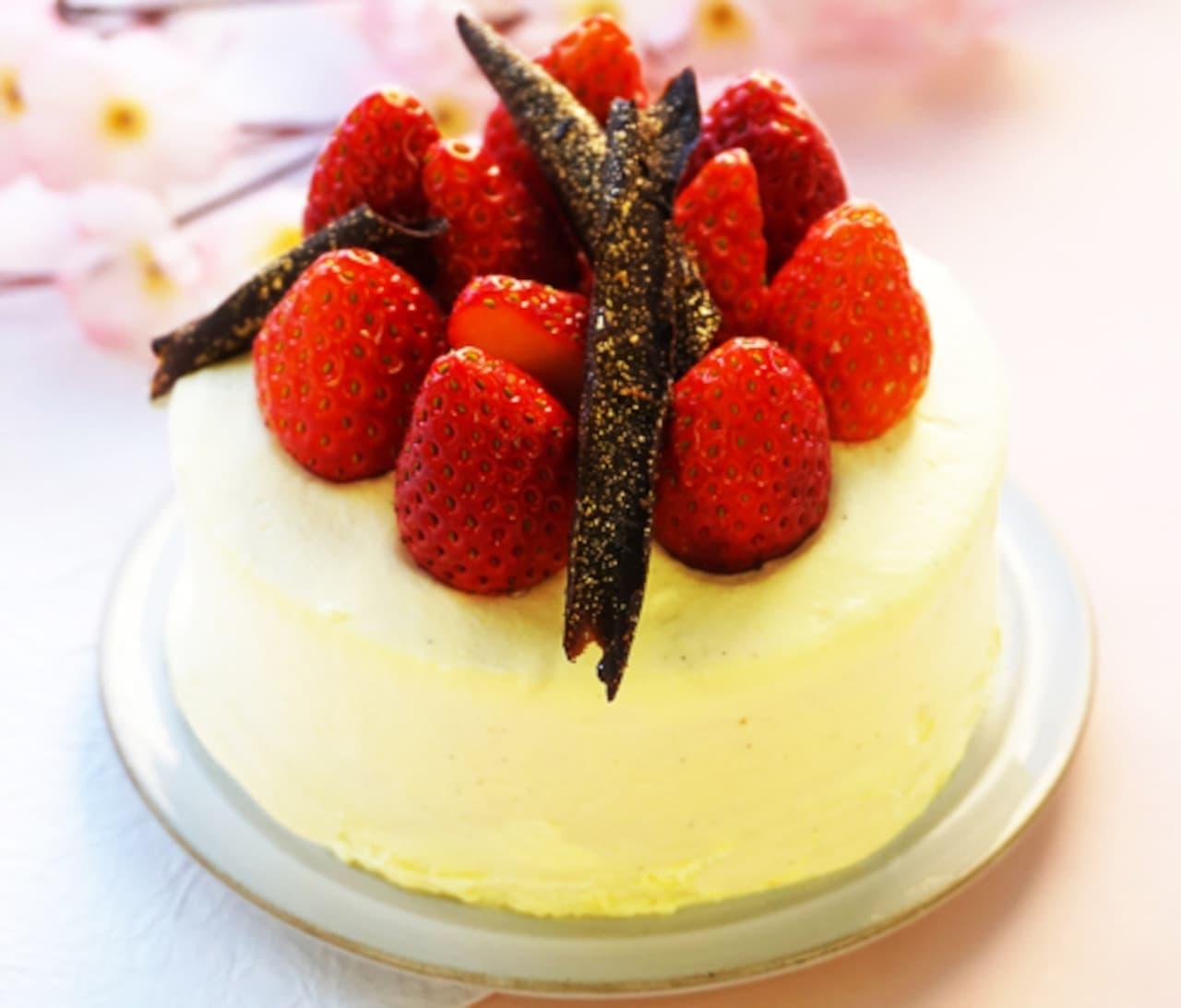 成城石井「口どけなめらかジャージーミルク苺ショートケーキ」