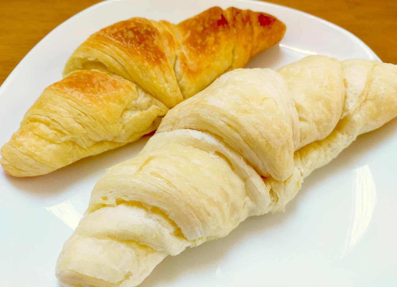 フジパン「おうちで焼きたてパリパリクロワッサン」「おうちで焼きたてプチフランス」