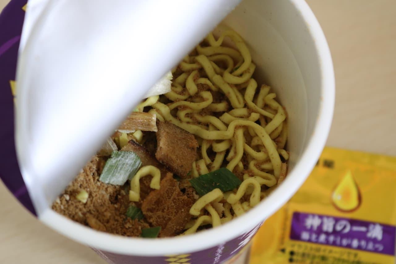 明星食品「明星 麺神カップ 神太麺×旨 醤油」