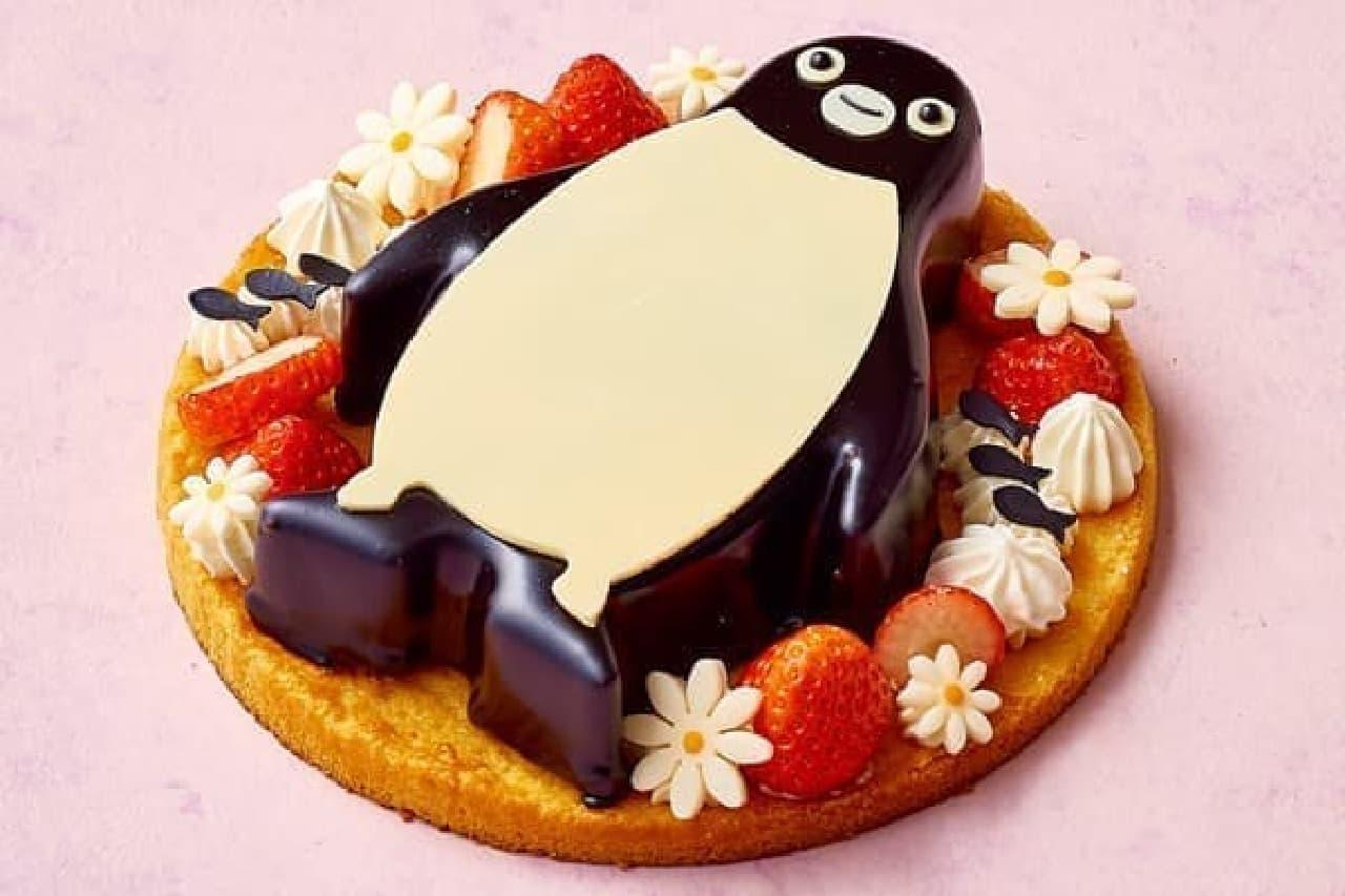 Suicaのペンギン ホワイトチョコレートケーキ