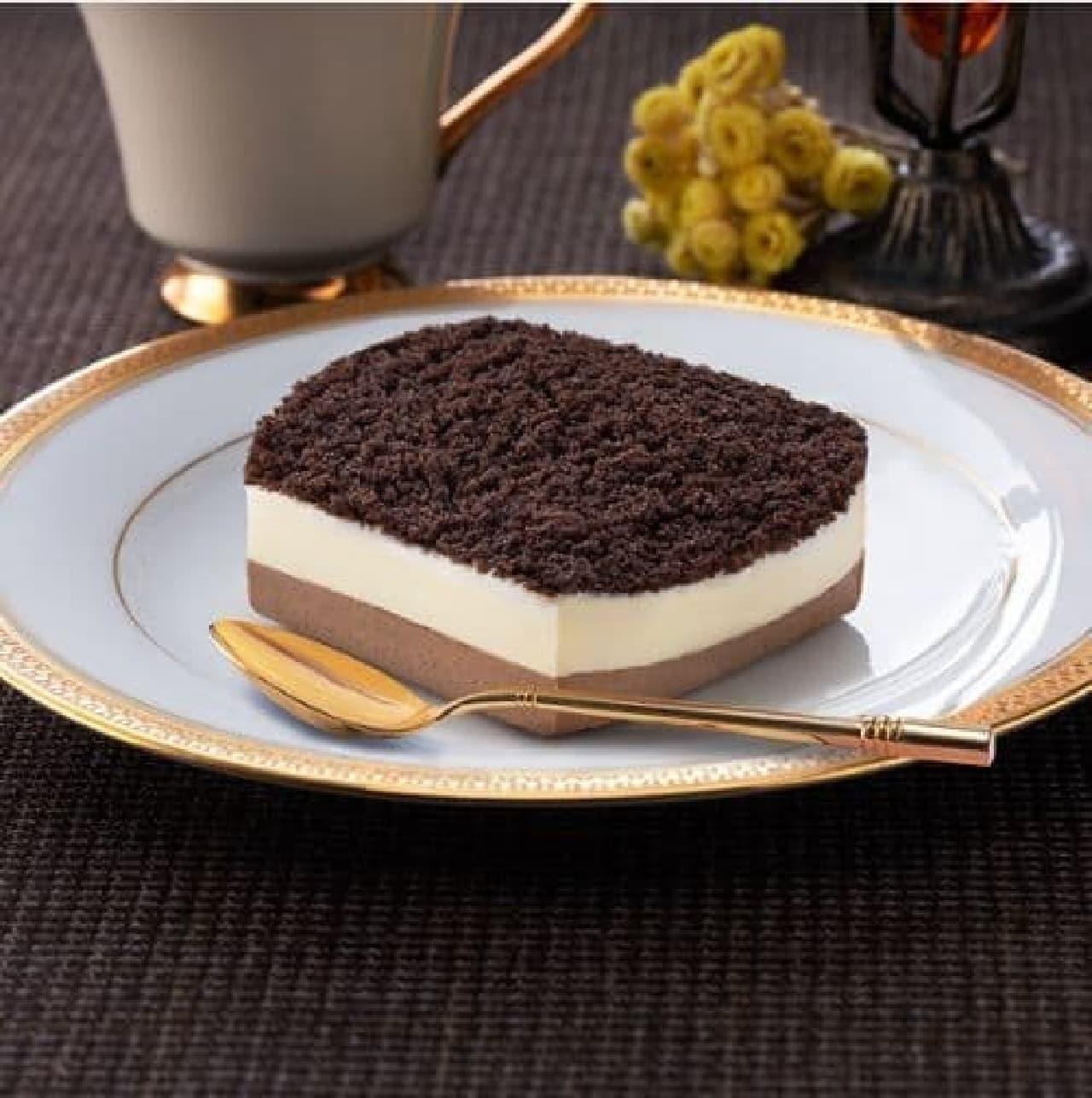ファミリーマート「ショコラチーズケーキ」